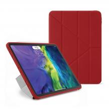 PipettoPipetto iPad Pro 2020 11-tums TPU Origami-fodral - Röd