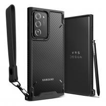 VERUSVRS DESIGN | Crystal Mixx Pro Skal Galaxy Note 20 Ultra - Svart