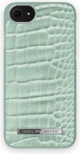 iDeal of SwedeniDeal Atelier Skal iPhone 6/6S/7/8/SE 2020 - Mint Croco