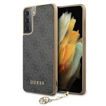 GuessGUESS Skal Samsung Galaxy S21 Plus Charms Collection - Grå