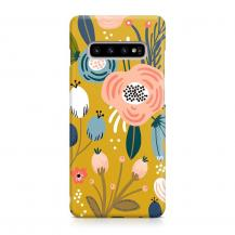 TheMobileStore Slim CasesDesigner Skal till Samsung Galaxy S10 - Pat2128