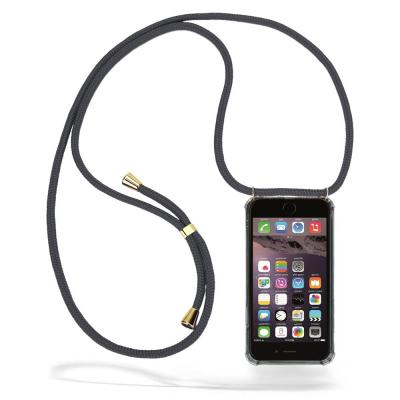 CoveredGear Necklace Case iPhone 6 Plus - Grey Cord