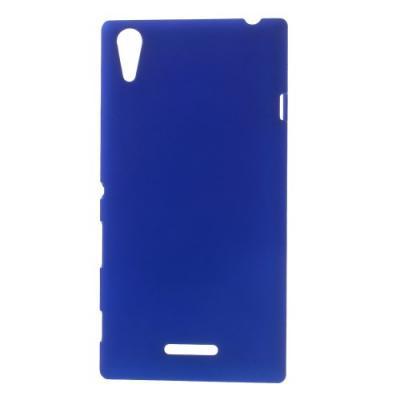 Rubberized Skal till Sony Xperia T3 - Mörkblå