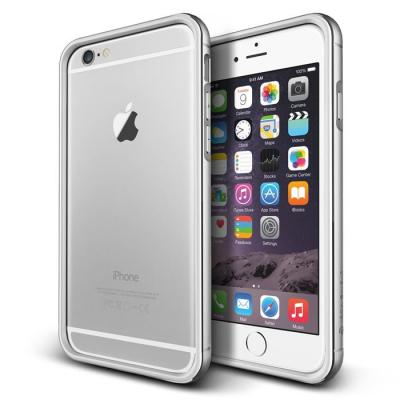 Verus Iron Bumper Skal till Apple iPhone 6(S) Plus (Silver - Vit) c3e45614981ed