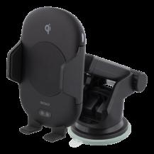 DeltacoDELTACO Qi laddare för bilen med IR sensor, 10W - sugkopp