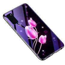 A-One BrandElectroplating Mobilskal för Galaxy S20 Plus - Tulip