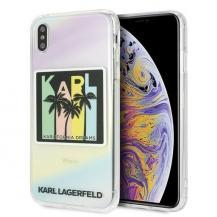 KARL LAGERFELDKarl Lagerfeld skal iPhone Xs Max Kalifornia Dreams