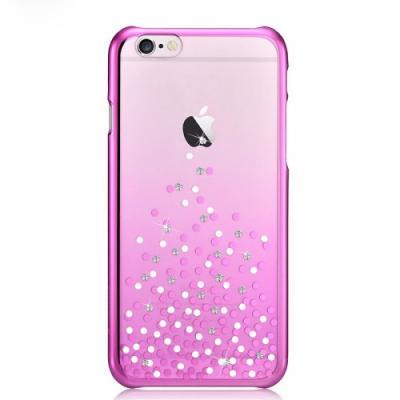 COMMA Baksideskal till Apple iPhone 6(S) Plus- Dots - Rosa