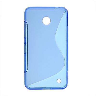 FlexiCase Skal till Nokia Lumia 630 (Blå)