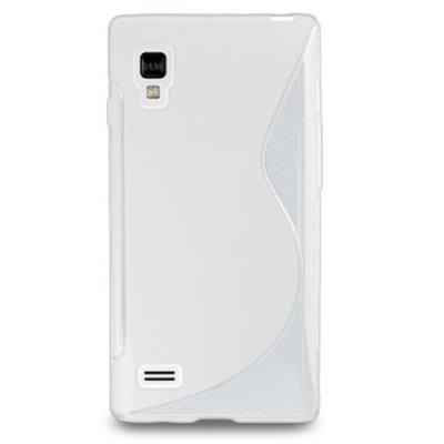 FlexiCase Skal till LG Optimus L9 - P760 - (Vit)