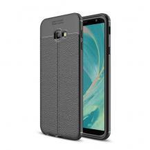 OEMLitchi Skal till Samsung Galaxy J4 Plus - Svart