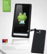 SeepooSeepoo Move Silikonskal till Sony Xperia U + Skärmskydd (Svart)