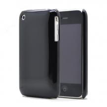OEMShiny baksideskal till iPhone 3gs Svart