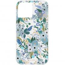 Case MateCase Mate - Rifle Paper Skal iPhone 12 Mini - Garden Party Blue
