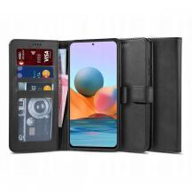 "Tech-ProtectPlånboksfodral ""2"" Xiaomi Redmi Note 10 Pro - Svart"