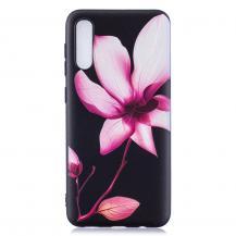 OEMFlexicase Skal till Samsung Galaxy A50 - Rosa Blomma
