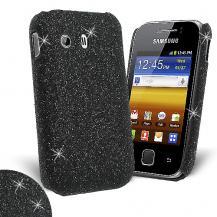 OEMGlitter skal till Samsung Galaxy Y S5360 - (Svart) + Skärmskydd