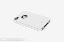 ROCKRock Invigorate Series Flexicase skal till Apple iPhone 4/4S (Vit)