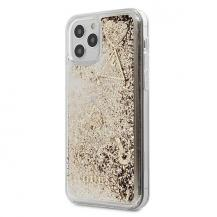 GuessGuess skal iPhone 12 & 12 Pro Glitter Charms - Guld