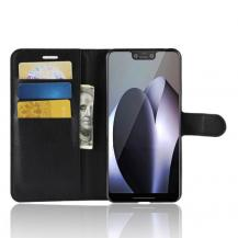 TaltechLitchi Plånboksfodral för Google Pixel 3 XL - Svart