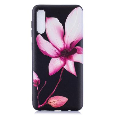 Flexicase Skal till Samsung Galaxy A50 - Rosa Blomma