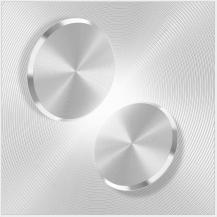 FlovemeFloveme Metallbricka till Magnetisk Bilhållare - Silver