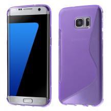 OEMFlexicase Skal till Samsung Galaxy S7 Edge - Lila