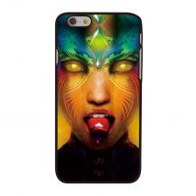 OEMBaksideSkal till Apple iPhone 6 / 6S - Trippy Girl