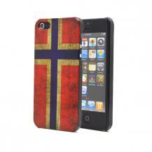 A-One BrandNorges flaggaBaksideskal till Apple iPhone 5/5S/SE