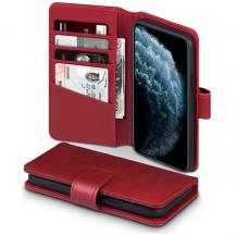 TerrapinTerrapin | Äkta Läder Plånboksfodral iPhone 12 Pro Max - Röd