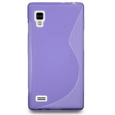 FlexiCase Skal till LG Optimus L9 - P760 - (Lila)
