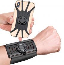 """A-One BrandUniversal Borttagbar Sport Armband till mobiler 4""""- 6.5"""" - Svart"""