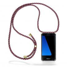 CoveredGear-NecklaceCoveredGear Necklace Case Samsung Galaxy S7 Edge - Red Camo Cord