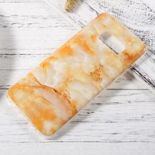 OEMPatterned Mobilskal Samsung Galaxy S8 - Orange Marble