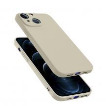 A-One BrandTunt Mjukt mobilskal till Apple iPhone 13 Pro Max - Beige