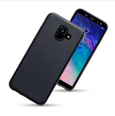 Mobilskal till Samsung Galaxy A6 Plus (2018) - Svart