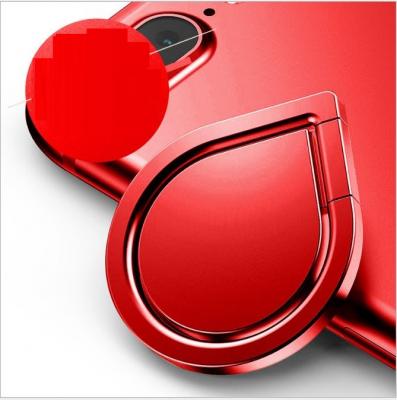 Water Drop Ringhållare till Mobiltelefon - Röd