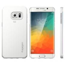 SpigenSPIGEN Thin Fit Skal till Samsung Galaxy S6 Edge Plus - Shimmery White