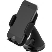DeltacoDELTACO Bilhållare för smartphone, justerbart fäste med sugpropp, svart