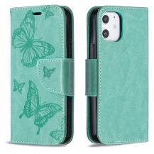 OEMImprint Butterfly Plånboksfodral iPhone 12 mini - Grön