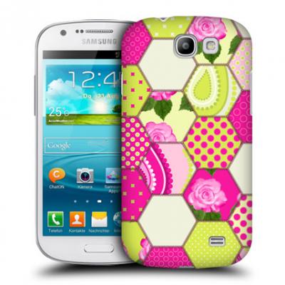 Skal till Samsung Galaxy Express i8730 - Flowers and Dots