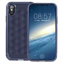 IVSOIVSO Geometric Hexagon Skal till iPhone XS / X - Lila