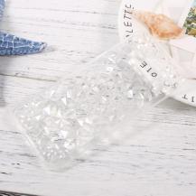 SULADASULADA 3D Diamond Pattern Mobilskal Samsung Galaxy S8 - Transparent