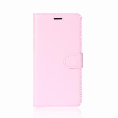 Litchi Plånboksfodral till Nokia 8 - Rosa