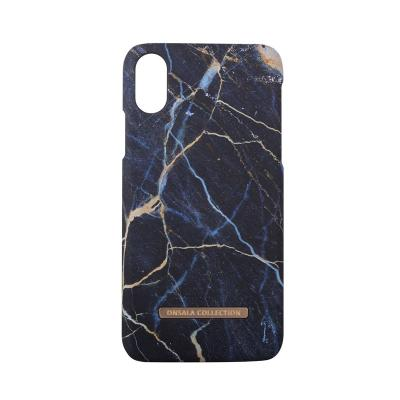 Onsala Collection mobilskal till iPhone XS / X - Black Galaxy Marble