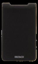 DeltacoKreditkortshållare med RFID-blockering för smartphones - Svart