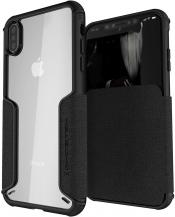 GhostekGhostek Exec 3 Plånboksfodral till iPhone XS Max - Svart