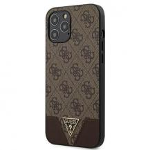 GuessGuess skal iPhone 12 Pro Max 4G Triangle Brun