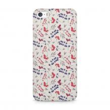 TheMobileStore Slim CasesDesigner Skal till Apple iPhone 5/5S/SE - Pat2051