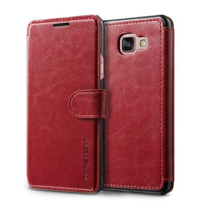 Verus Dandy Layered Plånboksfodral till Samsung Galaxy A7 2016 - Wine